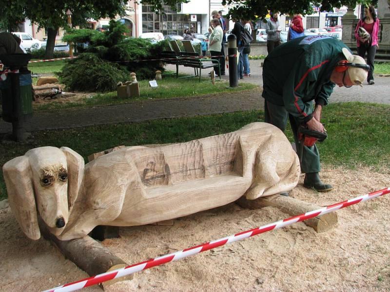 Svátky dřeva v Žamberku.