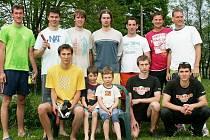Beachvolejbalisté, kteří bojovali v Lanškrouně.