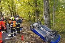 Děsivě vypadající nehoda se obešla bez zranění