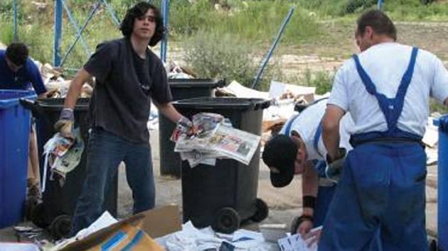 Město zajišťuje skladbu komunálního odpadu.