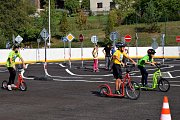 V Lukavici slouží nové dopravní hřiště.