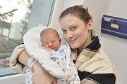Vojtěch Pavlíček je prvním dítětem Romany a Marka z Brandýsa nad Orlicí. S váhou 3,520 kg se narodil 13. 11. v 15.40 hodin.