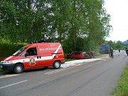 Výjezd k dopravní nehodě 22.6.2007 v Dolní Dobrouči.