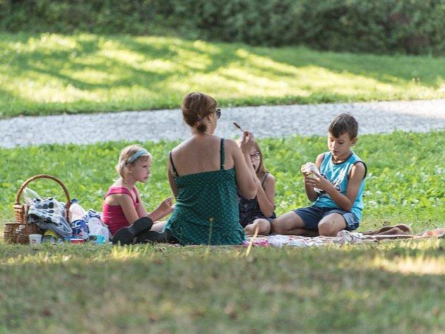 piknik, ilustrační foto