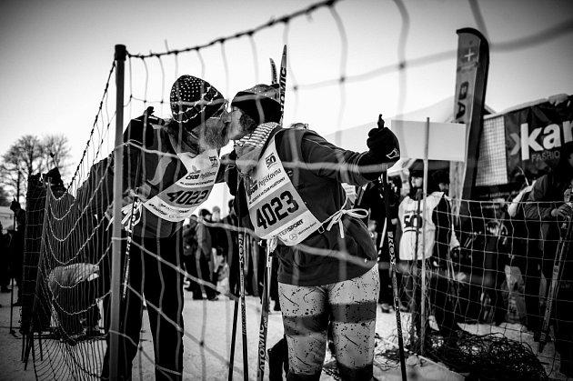 Ze série fotografií zJizerské 50, která získala 1.cenu vkategorii sport na Czech Press Photo.