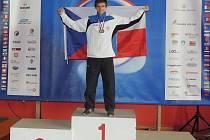 JAKO DOMA se cítí Martin Viktorin na stupních vítězů. Zlatý podstavec si v kariéře několikrát pronajal, ale to není vše. Chtěl by se stát vůbec prvním Čechem, který získá titul mistra světa asociace WAKO.