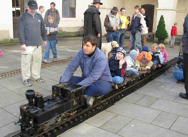 Výstava železničních modelů a kolejišť v Orlickém muzeu.