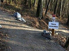 Nově vybudované trailové tratě ve Vysokém Mýtě.