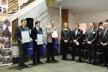 V Pardubicích uděloval Klub zaměstnavatelů ocenění Škola doporučená zaměstnavateli.