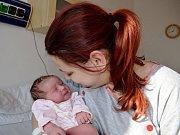 Sofie Bačová je dalším dítětem Lucie a Tomáše z Řetové. Narodila se 21. 2. ve 23.47 s váhou 3,300 kg. Bráška se jmenuje Matyáš.