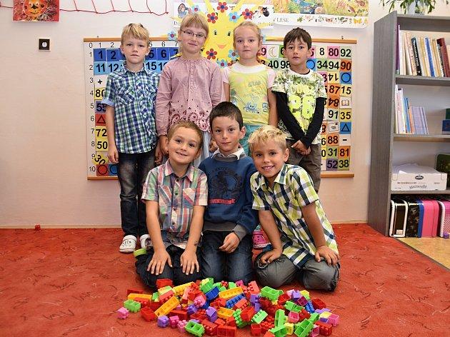 Žáci ze Základní školy Dobříkov.