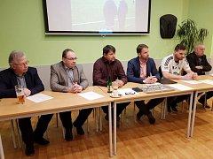 Tiskovou konferencí zahájila Jiskra Ústí nad Orlicí jarní část sezony ČFL. Představena byla i nová posila fotbalistů Jakub Chleboun.