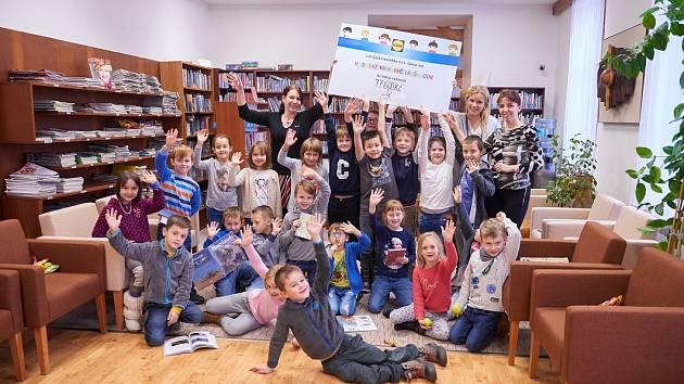 Dětské oddělení městské knihovny v Lanškrouně získalo 77 600 korun.