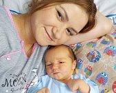 Mark Sydorov je první radostí Iryny a Antona z Letohradu. Na svět přišel dne 24. 11. v 19.50 hodin a při narození si přinesl váhu 4020 g.