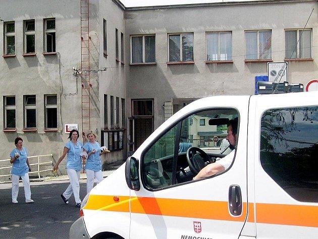 Nemocnice v Ústí nad Orlicí.