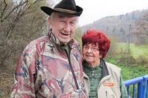 Manželé Švábenští oslavili diamantovou svatbu.