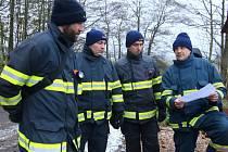 Cvičení složek IZS zaměřené na vyhledávání pohřešovaných osob.