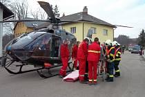 Nehoda v Helvíkovicích.