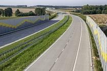 Již hotový úsek S8 v polském vnitrozemí.