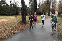 Marathon for Samuel na Štědrý den.