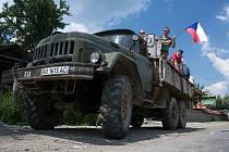 Z cesty KČT Dolní Dobrouč 2009 na západ Ukrajiny.