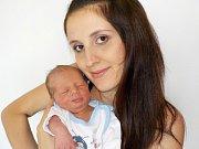 Eliáš Havrdlík je prvorozený syn Simony Foltánové a Zdeňka Havrdlíka z Litomyšle. Radost dělá rodičům od 5. 8. 17.57 hodin. Při narození vážil 3290 g.