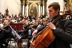Tříkrálový koncert v Ústí nad Orlicí.