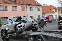Dopravní nehoda v Chocni.