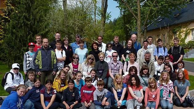 V rámci mezinárodního projektu Comenius navštívili Arboretum Žampach obdivovatelé stromů z  Finska, Slovenska, Turecka a Velké Británie.