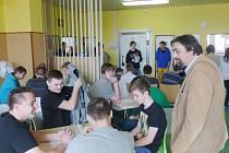 Studenti vstoupili do registru dárců kostní dřeně