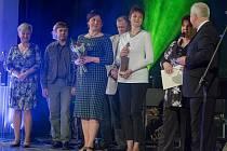 Předávání Kujebů, výročních cen města Vysoké Mýto, za rok 2015.