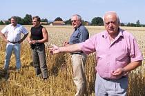 Zemědělci ve Sloupnici.