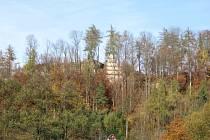Panorama brandýského hradu.