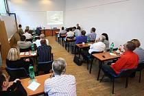 Představení vizualizace nové odbavovací haly v Ústí nad Orlicí.