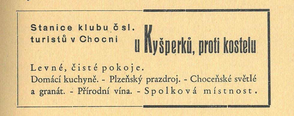 U Kyšperků 1937