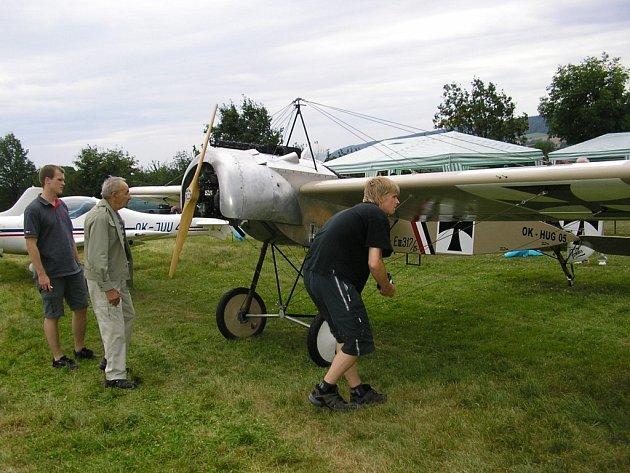 Setkání přátel létání v České Třebové