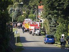 Tragická nehoda na železničním přejezdu v Letohradu.