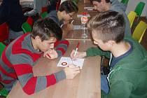 Oblastní turnaj v pIšQworkách v Ústí nad Orlicí.