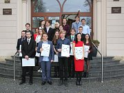 Na Krajském úřadu v Pardubicích byly uděleny ceny Mladý talent Pardubického kraje.