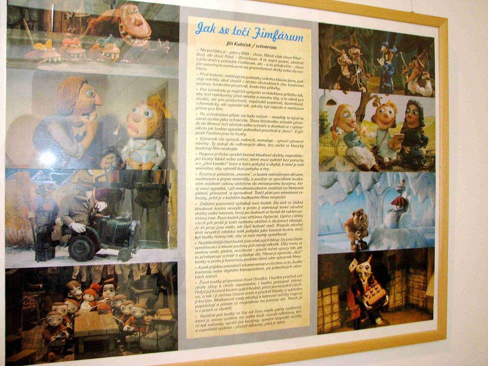V červnu si výstavu Fimfárum užili i školáci. V mýtské galerii bude otevřena do 11. září.
