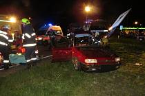 Vážná nehoda na I/14 v České Třebové.