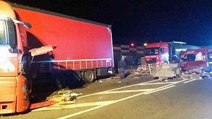 Smrtelná nehoda u Vysokého Mýta na silnici I/35