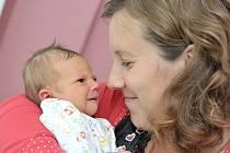 Rozálie Lustyková poprvé uviděla svět 4. října v7.33 hodin. Zprvní dcery mají radost rodiče Pavlína Stejskalová a Vojtěch Lustyk zLitomyšle. Holčička vážila 3,390 kg.