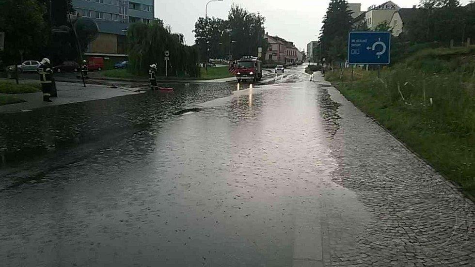 Déšť opět potrápil Pardubický kraj, nejvíc  Orlickoústecko a Svitavsko