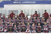 Mladí hokejisté Lanškrouna rozšiřují své řady. Na trénink může přijít každý, kdo si chce vyzkoušet, jaké to je být hokejistou.