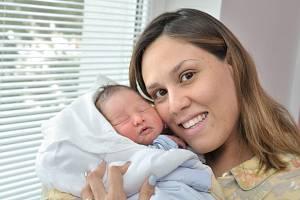 Matthew Seidlman těší rodiče Piu a Milana z České Třebové. S váhou 2820 g se narodil 9. 4. v 21.05 hodin.