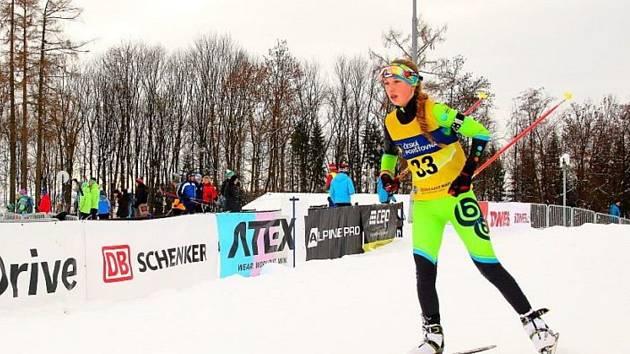 Biatlonistka Svatava Mikysková vyhrála na domácí trati jak vytrvalostní závod, tak i sprint.