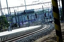 Železniční trať - ilustrační foto.