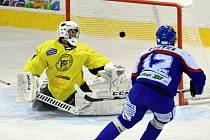 Krajská hokejová liga: HC Spartak Choceň - HC Kohouti Česká Třebová.