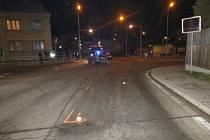 Nehoda v Žamberku.